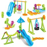 Learning Resources Playground Engineering & Design STEM Set, 104 Pieces