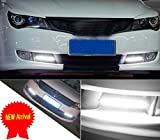 LEDKINGDOMUS-2x-Car-cob-Lights-Waterproof-Super-Bright-DRL-Fog-Driving-White-Lamp-DC-12V