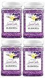 SMELLS BEGONE Odor Eliminator Gel Bead Refill - Air Freshener - Formulated with Natural Essential Oils - Lavender Vanilla Scent - 4 Pack (48 OZ)