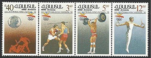 Armenia Postage Stamps - 1992 MNH 4v Strip Olympics Barcelona Sports