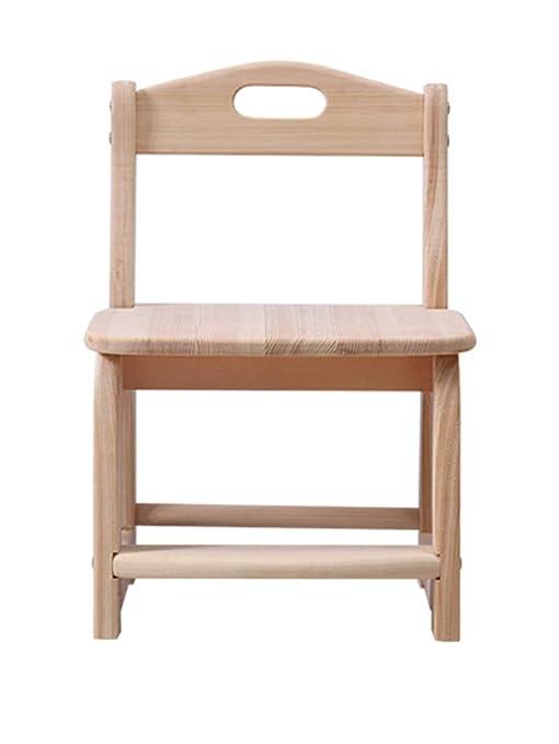 Chaise Pour Enfants Chaise En Bois Massif Chaise De Jardin D ...
