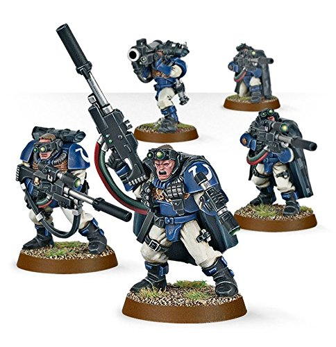 (Games Workshop Warhammer 40,000 Space Marine Scouts with Sniper Rifles)