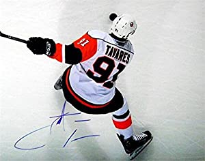 Autograph Warehouse 343067 11 x 14 in. John Tavares Signed Photo - New York Islanders Hockey Star Image No. SC1