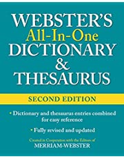 Webster's All-In-One Dictionary & Thesaurus, Second Edition