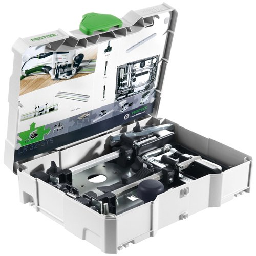 - Festool 584100 LR 32 Hole Drilling Set In Systainer 1