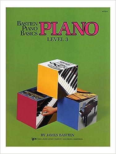 bastien piano basics level 3 theory