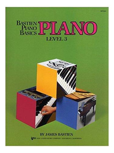 WP203 - Bastien Piano Basics - Piano Level 3 ()
