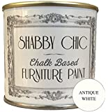 Shabby Chic Chalk Paint pittura a gesso Per Mobili Finitura Opaca Bianco Antico (Antique White) 250ml