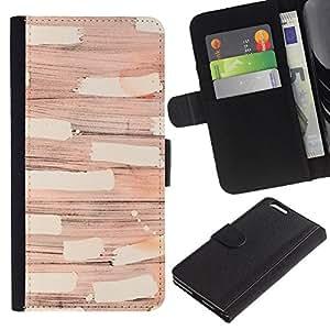 Abstracta moderna del diseño del arte- la tarjeta de Crédito Slots PU Funda de cuero Monedero caso cubierta de piel Para Apple (5.5 inches!!!) iPhone 6+ Plus / 6S+ Plus