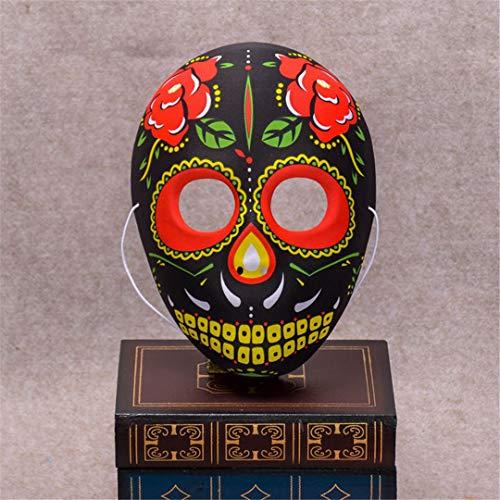 Halloween Skull Mask Painted Peking Opera Mask Fullface Party Adult Kids Terror Gorgeous Supplies Ghost Masquerade Day Dead Maske