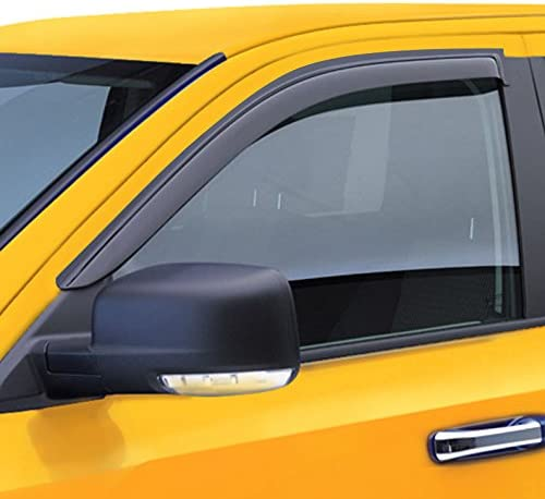 Set for Ford Edge 07-12 Smoke Window Visor Rain Sun Deflectors Guard Vent Shade
