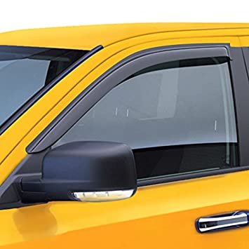 D/&O MOTOR 2pcs Front Smoke Sun//Rain Guard Outside Mount Tape-On Window Visors For 95-05 Chevy Blazer//GMC Jimmy 2-Door 94-04 S10 Pickup//Sonoma 96-00 Isuzu Hombre