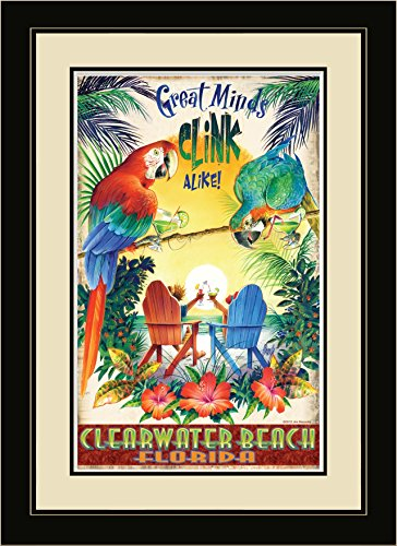Northwest Art Mall GMC Clearwater Beach Florida Framed Wall Art by Artist Jim Mazzotta, 16