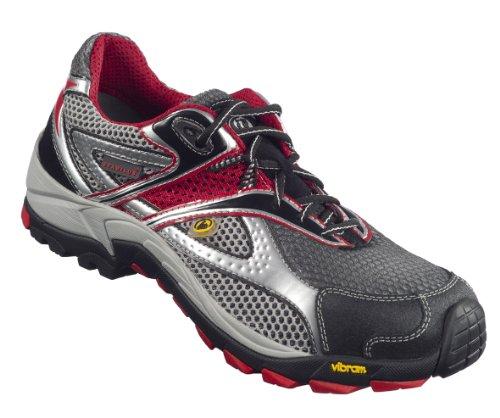 Stabilus Sicherheitsschuhe Jogger1 - Jogger S1 Sicherheitshalbschuh Grau-Rot