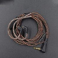 Cable KZ ZST/ZST Pro/ED12/ZSR/ZS10/ES3 de 0.030 in, 2 pines, cable de repuesto para KZ con micrófono