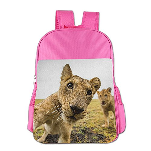 Old Gym Teacher Costume (Cute Lion Cute Thickened Canvas School Backpack Laptop Bag Shoulder Daypack Handbag)