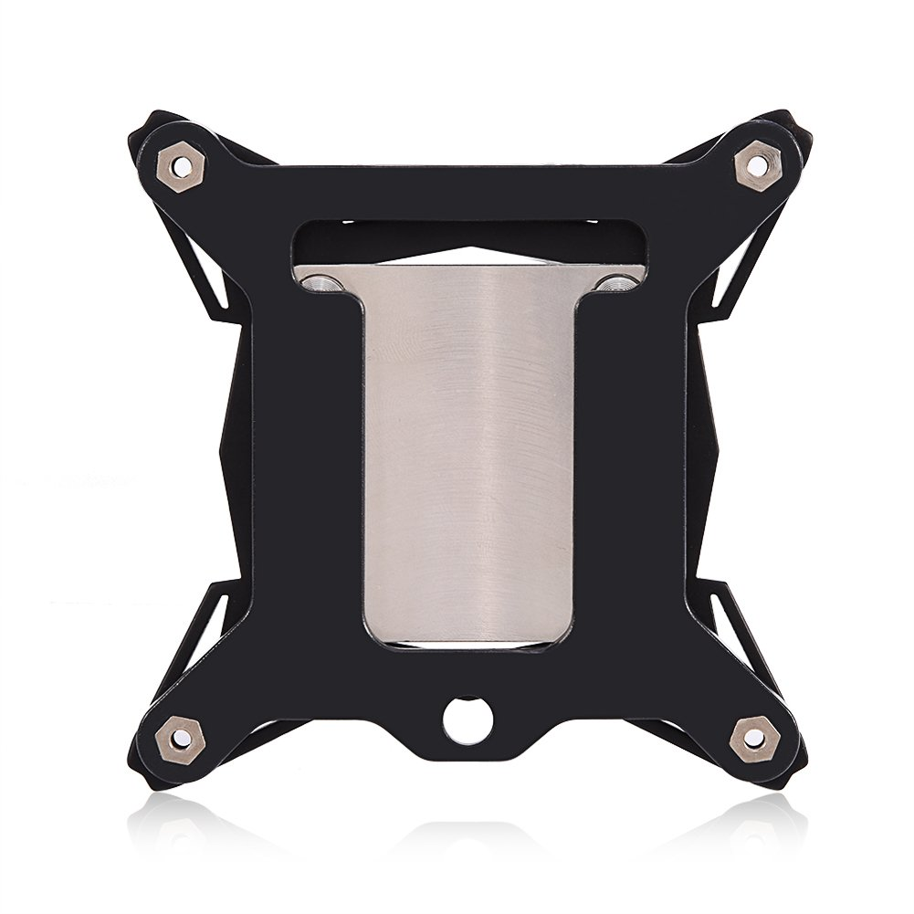 Universal 0.3mm Mini Computer CPU Cooling Water Block Cooler Kit Red Copper Base for Intel CPU Water Cooling Block