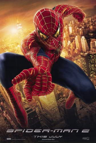B004UWYC9Y Spider-Man 2 Movie Poster (27 x 40 Inches - 69cm x 102cm) (2004) Style E -(Tobey Maguire)(Kirsten Dunst)(Alfred Molina)(James Franco)(Elizabeth Banks)(Bruce Campbell) 51oa7FMnEML