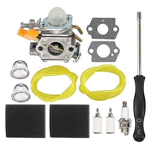 HIPA 985624001 Carburetor with Air Filter Adjustment Tool for Ryobi 30cc RY30000 RY30002 RY30004 RY30004A RY30004B RY30021A RY30041A RY30061A RY52001 RY52001A String Trimmer Brushcutter by HIPA