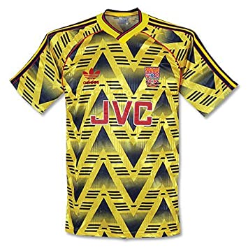 681333656ad adidas 91-93 Arsenal Away Shirt - Used - L  Amazon.co.uk  Sports ...