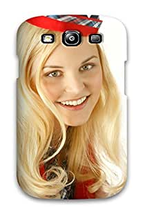 Tpu Case Cover For Galaxy S3 Strong Protect Case - Ginnifer Goodwin Design