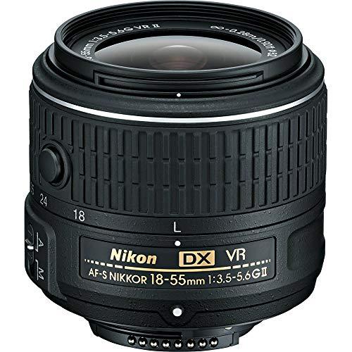 Nikon 18-55mm f/3.5-5.6G VR AF-P DX Zoom-Nikkor Lens - International Version Seller Warranty