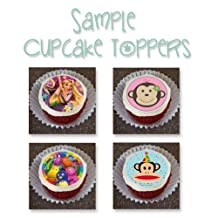 Decopac Edible Cupcake Toppers Hot Wheels Speed City Edible Cupcake Toppers Decoration