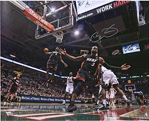 Autographed Wade Photograph - Dwyane Wade Miami Heat Autographed 16