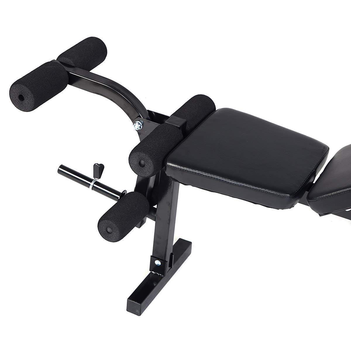 GYMAX Adjustable Bench, Multi-Function Weight Lifting Bench for Full Body Workout Fitness