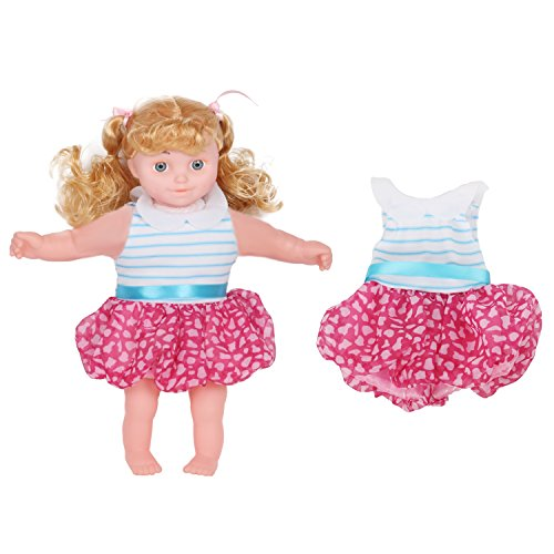 Set of 12 Handmade Baby Doll Clothes Dress Outfits