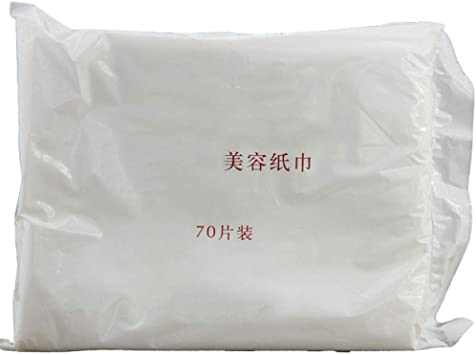 Tejido de belleza 70 unidades de algodón removedor de esponja ...