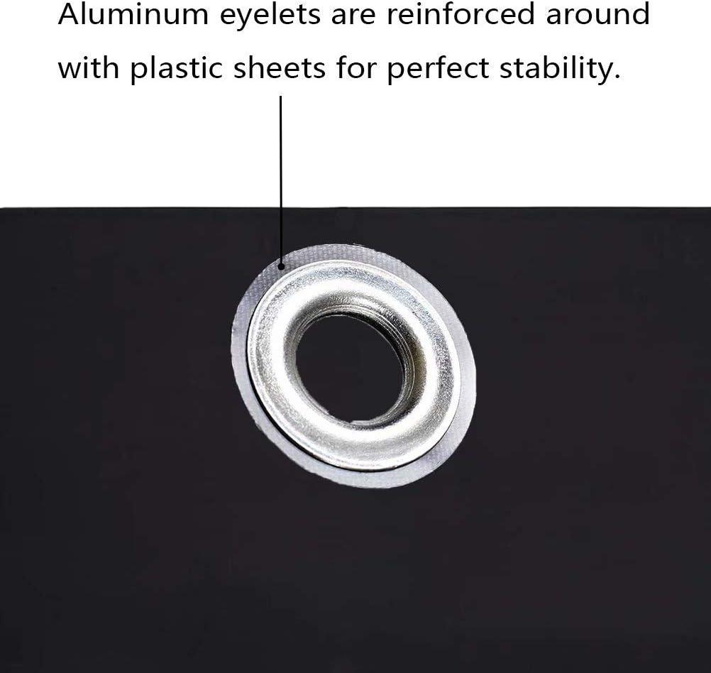 Resistente a Los rayos UV Nero 0.5x3m per Ringhiera Protezione Balcone Muchas Paravento Frangivento Balcone Frangivento Protezione da Raggi