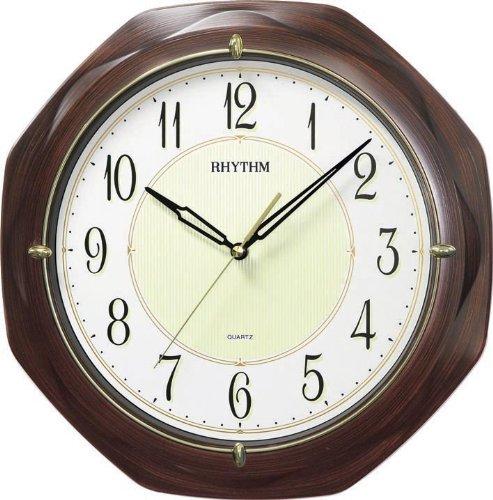 RELOJ PARED , SEGUNDERO MOVIMIENTO CONTINUO SUPER LUMINOSO DIAMETRO 34,8 CM.: Amazon.es: Relojes
