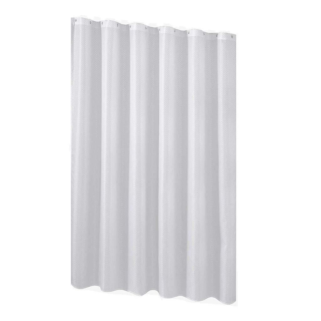 Susun Fabric Shower Curtain Mildew Resistant Washable Water Repellent Spa Bathroom Cur