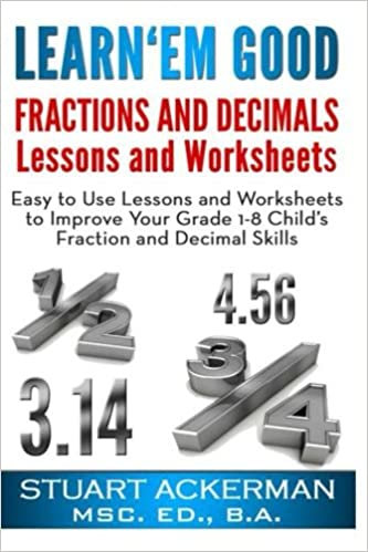 Amazon.com: Learn'Em Good -Fractions and Decimals-: Easy to Use ...