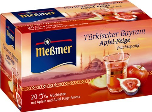 Messmer Bayram Apple Fig Tea - Pack of 2