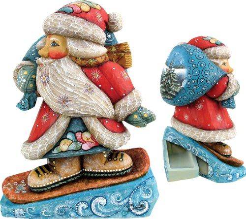 - G. Debrekht 6 Inch Downslope Santa Box