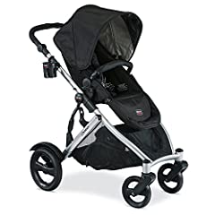 The B READY stroller from BRITAX is a versatile, modular stroller that can easily convert to an in line double stroller. with 14 different configurations the B READY stroller is adaptable to fit your needs. The integrated Click and Go receive...