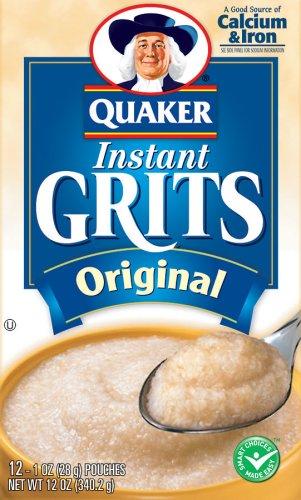 Quaker Oats Instant Grits Original, 12 Ounce