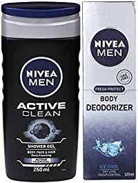 Nivea Men Cool and Clean Combo