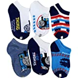 "Thomas & Friends ""Go Go Thomas"" 6-Pack Ankle Socks Size 4-6"