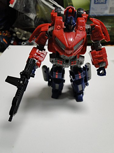 Transformers Generations: Autobot Cybertronian Optimus Prime Deluxe Class Action Figure (Transformer Toy Hound)