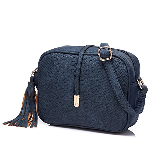 Realer Small Shoulder Bags PU Leather Side Purse Cross Body for Women ()