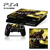 Ci-Yu-Online VINYL SKIN [PS4] Dark Souls III 3 #1 Whole Body VINYL SKIN STICKER DECAL COVER for PS4 Playstation 4 System Console and Controllers