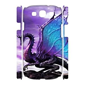 ALICASE Cover Case Dragon 3D Diy For Samsung Galaxy S3 I9300 [Pattern-6]