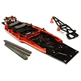 Integy Inc. C26146RED Complete LCG Chassis Conv Kit 1/10 Slash 2WD, C26146RED