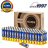 ALLMAX All-Powerful Alkaline Batteries- AAA (100-Pack), Ultra Long Lasting, Leakproof, 1.5V Cell