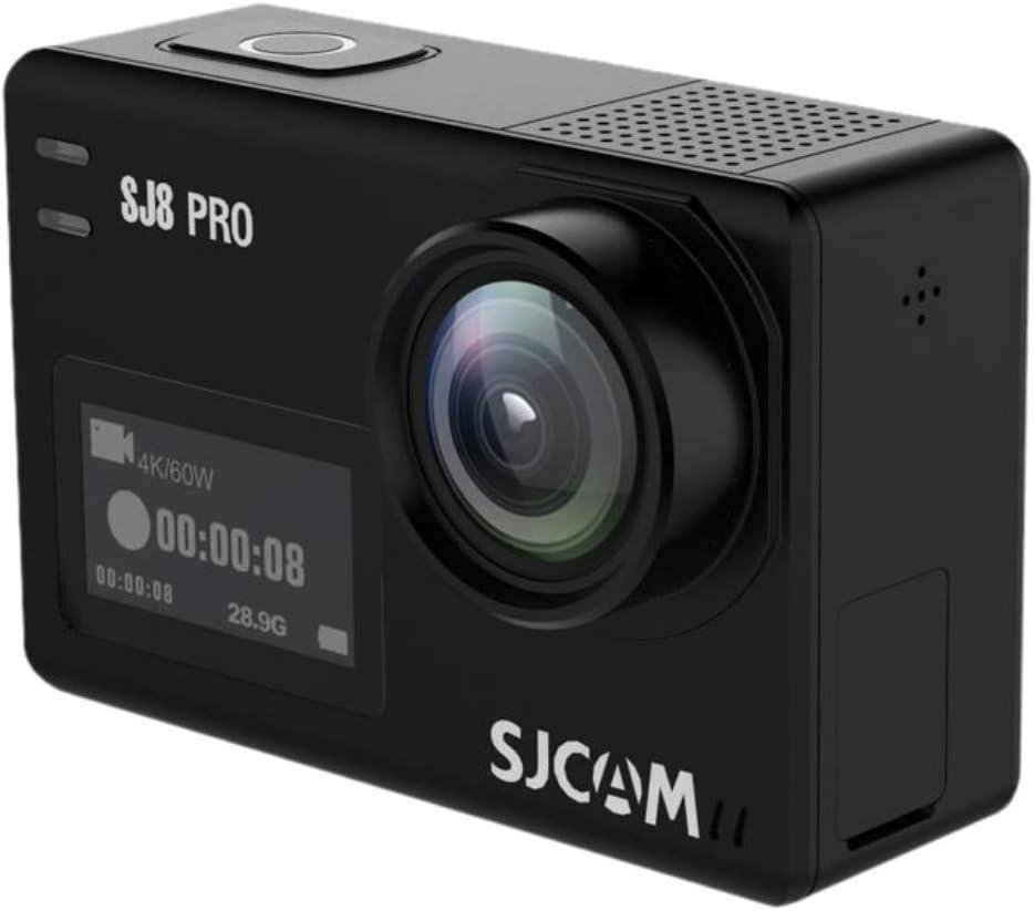 Sjcam Sj8 Pro Digital Action Camera With Touchscreen 60fps 4k Ultra Full Hd Eis Stabilised Raw Image 1200mah High Capacity Battery 5g Wifi Sports Cam E Commerce Packaging Sport Freizeit