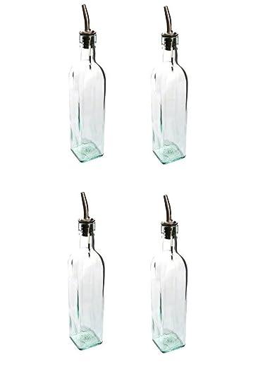 Amazon.com: Botellas de salsa vacías de boca ancha, 12 onzas ...