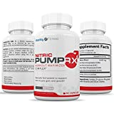Extra Strength Nitric Oxide L-Argenine Booster for Intra and Pre Workout for Men and Women to Enhance Endurance, Strength and Energy, Powerful Muscle Pumps - 90 Caplets